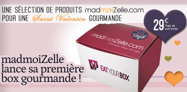 madmoiZelle lance sa toute première box gourmande! [épuisée]