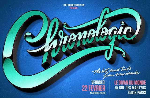 Chronologic, la nouvelle soirée parisienne que madmoiZelle aime (+ concours)