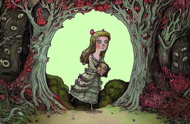 «Dans la forêt », une BD organique et poétique – Interview