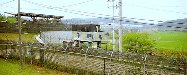 dmz La DMZ, frontière entre deux mondes   Carte postale de Corée du Sud
