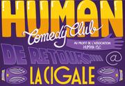 Retrouvez le Human Comedy Club le 12 février à la Cigale