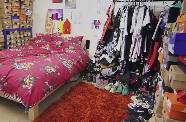 Ikea UK propose à une sneakers addict de ranger sa collection