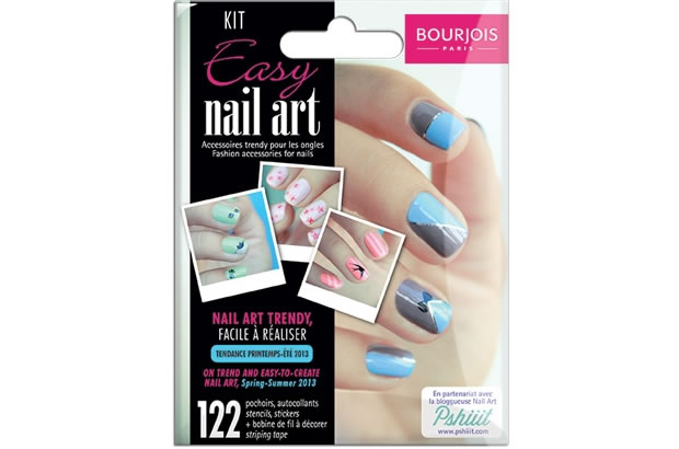 Bourjois lance un kit nail art nailart