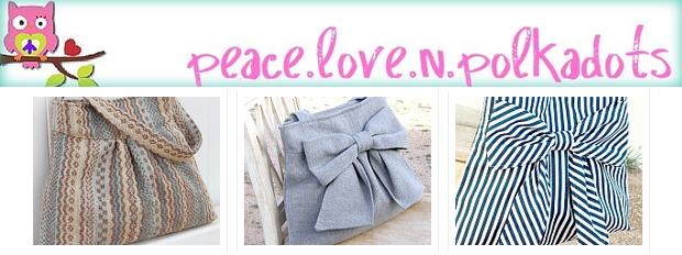peacelovenpolkadots Sélection de boutiques Etsy #11   Spéciale sacs à main !