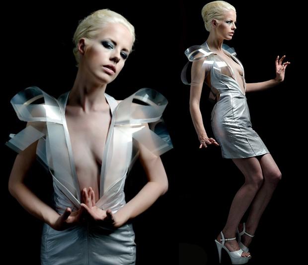 Une robe qui devient transparente   WTF mode robe transparente