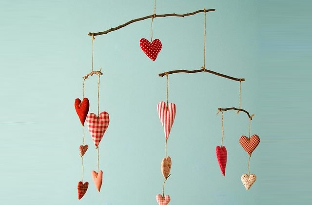 Sélection déco / loisirs créatifs spéciale Saint Valentin