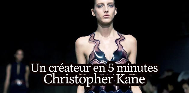 Christopher Kane, nouvelle star de la mode UK – Un créateur en 5 minutes
