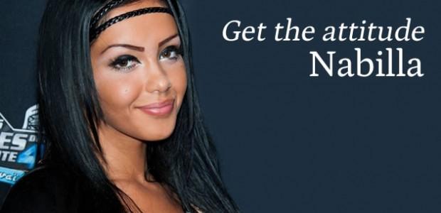 Get the attitude : Nabilla