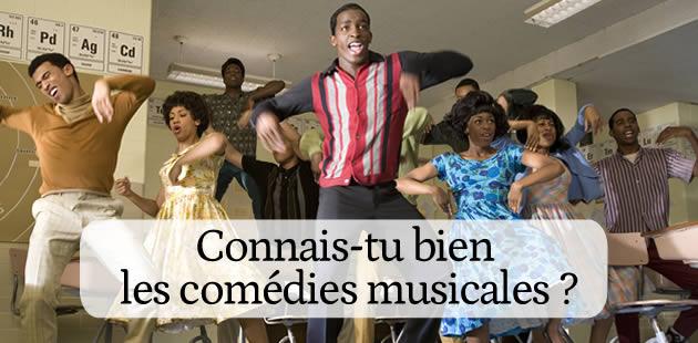 Quizz – Connais-tu bien les comédies musicales ?