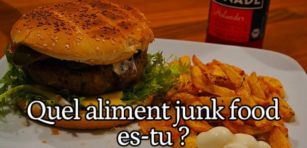 Test – Quel aliment de junk food es-tu ?