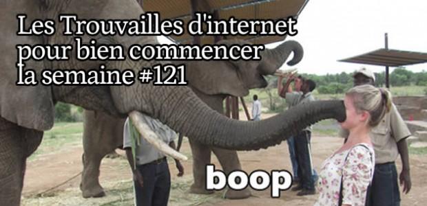Les trouvailles d'Internet pour bien commencer la semaine #121