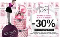 Bon plan Bourjois : 30% remboursés sur le maquillage !