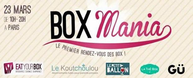 Boxmania, cest le samedi 23 mars boxmania