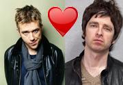 Lien permanent vers Damon Albarn et Noel Gallagher se réconcilient sur scène