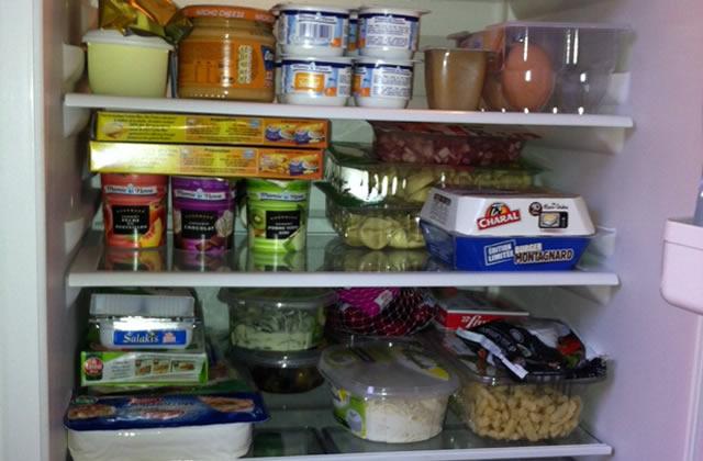 Dans le frigo… d'Aurélie !