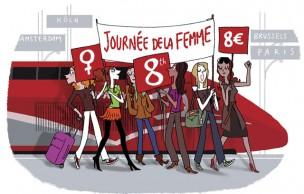 Lien permanent vers Bon plan Thalys : 8000 billets à 8€ !