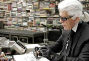 Lien permanent vers « Karl Lagerfeld se dessine », un joli documentaire très instructif