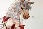 Lien permanent vers Les mondes de Yaxin – Le Jour de la Licorne, un très beau livre illustré par Man Arenas