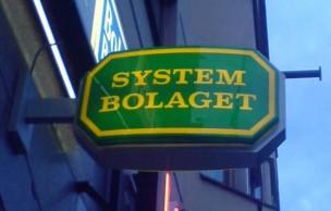 Lien permanent vers Systembolaget, monopole sur l'alcool – Carte postale de Suède