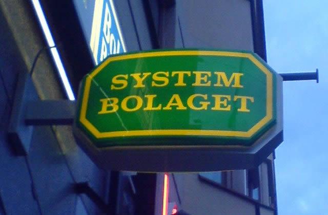 Systembolaget, monopole sur l'alcool – Carte postale de Suède