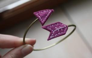 Lien permanent vers Tuto – Un bracelet flèche en feutrine