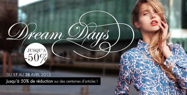 Soldes et promos de printemps ! Dream Days Monnier Freres