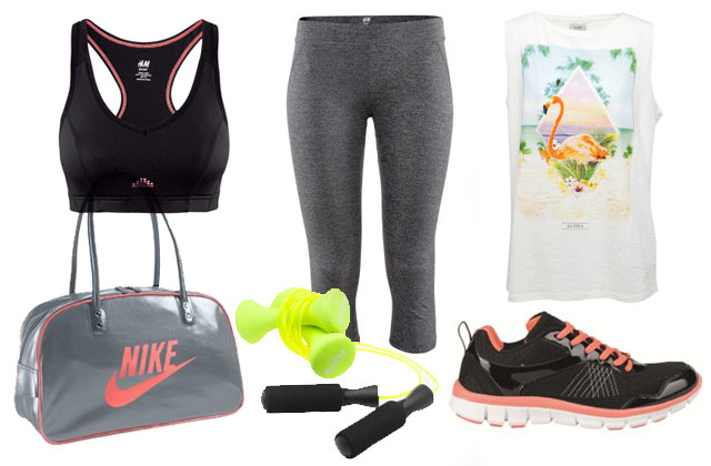 5 looks pour faire du sport Gym