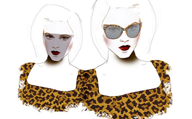 Visage anguleux Conseils morpho : choisir des lunettes adaptées à la forme de son visage