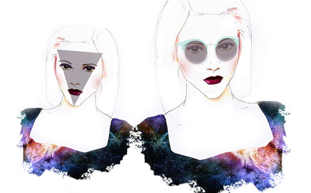Conseils morpho : choisir des lunettes adaptées à la forme de son visage Visage triangle