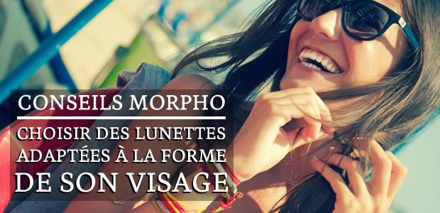 Conseils morpho : choisir des lunettes adaptées à la forme de son visage