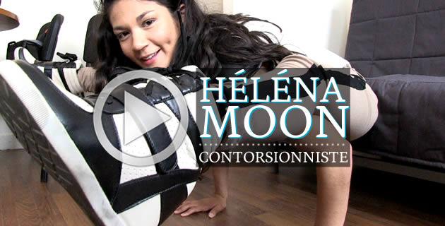 Héléna Moon, contorsionniste !