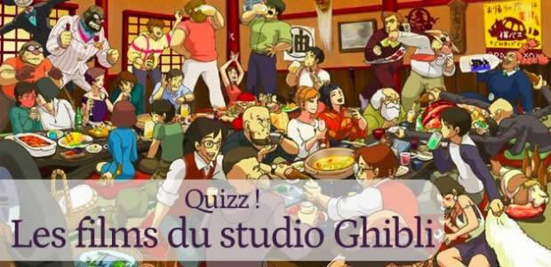 Quizz – Les films du studio Ghibli