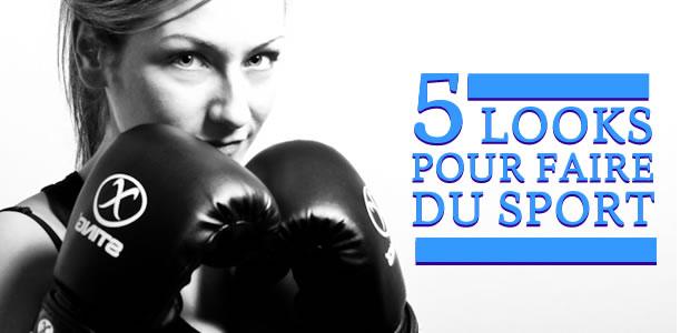 5 looks pour faire du sport