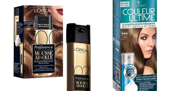 Kit de coloration cheveux