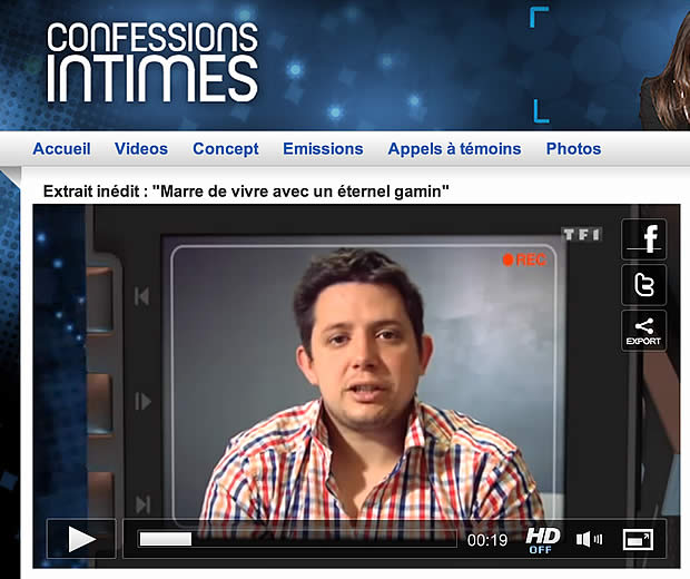 Rémi Gaillard piège Confessions Intimes en direct à la télé confessions intimes remi gaillard