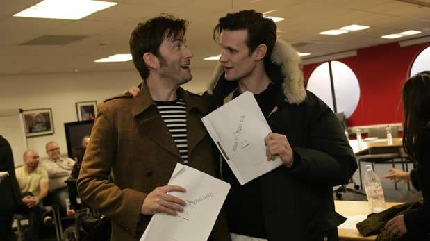 Doctor Who : premier trailer pour lépisode anniversaire des 50 ans ! david coeur au carre