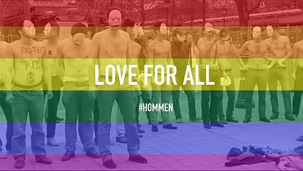 Les Hommen, ces mecs qui militent pour le mariage pour tous loveforall hommen