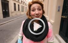 Street Style – Agnès et son manteau sable coloré !