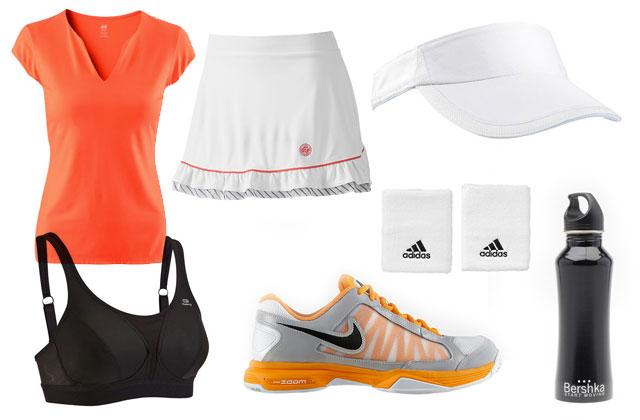 5 looks pour faire du sport tennis