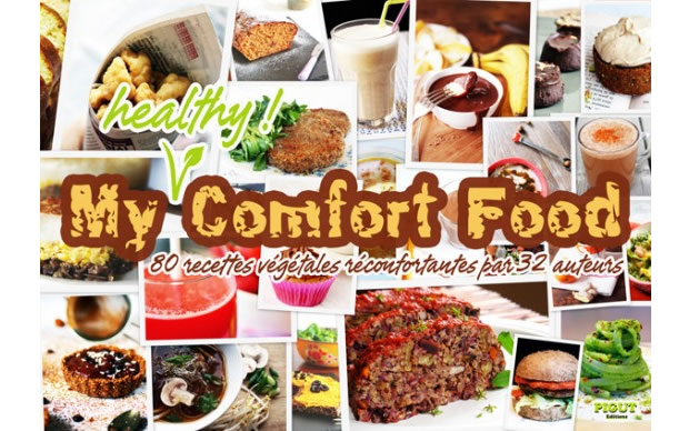 vegan « My Healthy Comfort Food », un eBook vegan gratuit
