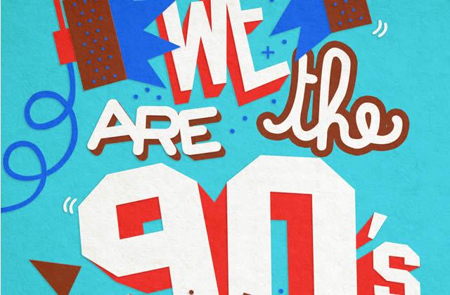 5×2 places à gagner pour la We Are The 90′s du 12 avril 2013