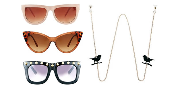 Lunettes de Soleil Asos Asos fait des promos sur les accessoires !