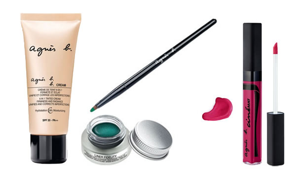 Les 5 bons plans shopping du week end ! Maquillage Agnes B