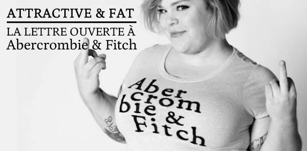 Attractive & Fat, la lettre ouverte à Abercrombie & Fitch