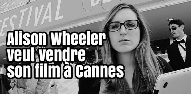 Caméra Cachée – Alison Wheeler vend son projet de film