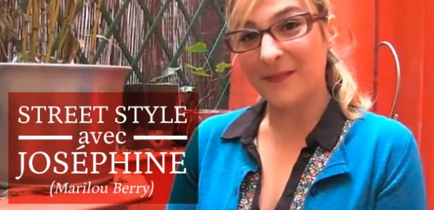 Street Style avec Joséphine (Marilou Berry)