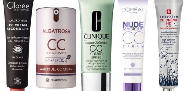 CC Cream : le méga comparatif cccream