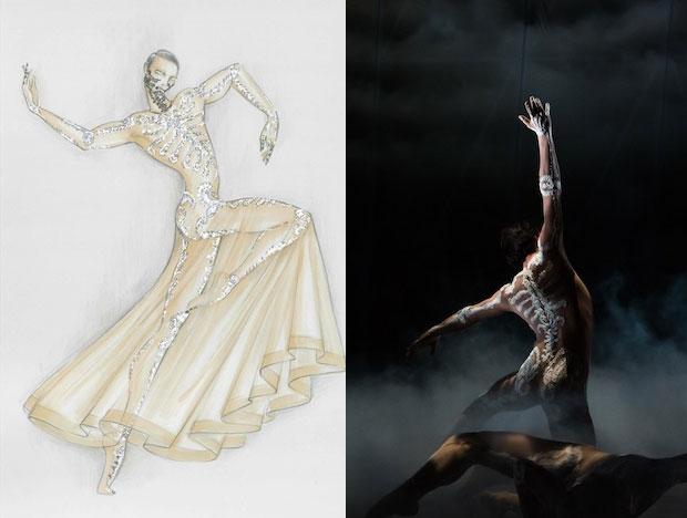costumes Riccardo Tisci crée les costumes du Boléro de Ravel