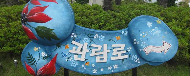 coucoutuveuxvoirma Lune de miel à LoveLand   Carte postale de Corée du Sud