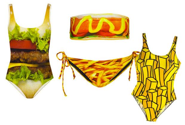 food Le maillot de bain imprimé : le hit de lété 2013